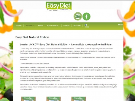 ACKD Easy Diet Dieetti